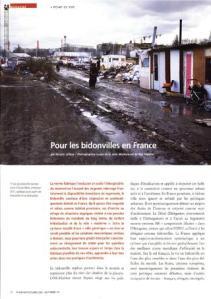 Pour les bidonvilles en France 1
