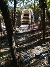 Escalier et rampe d'accès